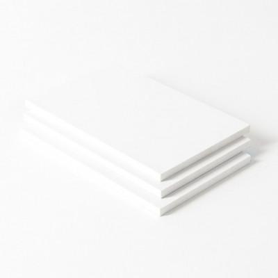 PVC-plaat wit geschuimd