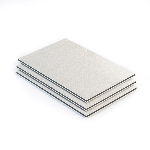 alupanel aluminium geborsteld 3 mm gratis op maat. Black Bedroom Furniture Sets. Home Design Ideas