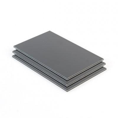 Dibond aluminium sandwichplaat grijs