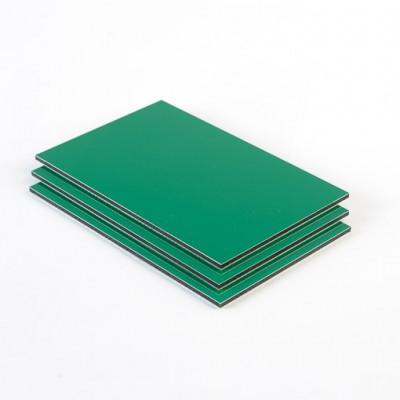 Dibond aluminium sandwichplaat lichtgroen