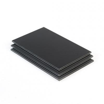 Dibond aluminium sandwichplaat zwart