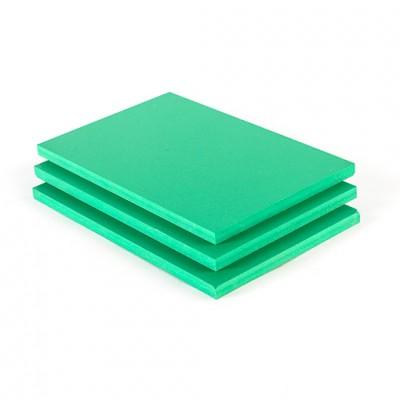 Geschuimd PVC plaat groen