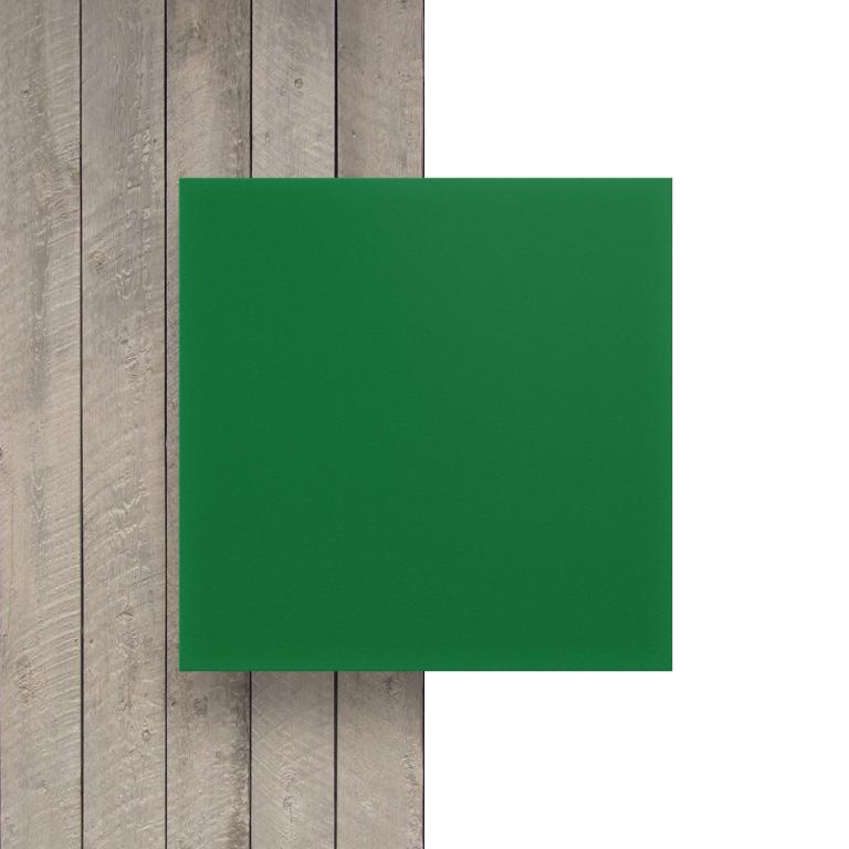 Geschuimd PVC voorkant groen