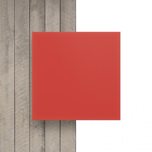 Geschuimd PVC voorkant rood