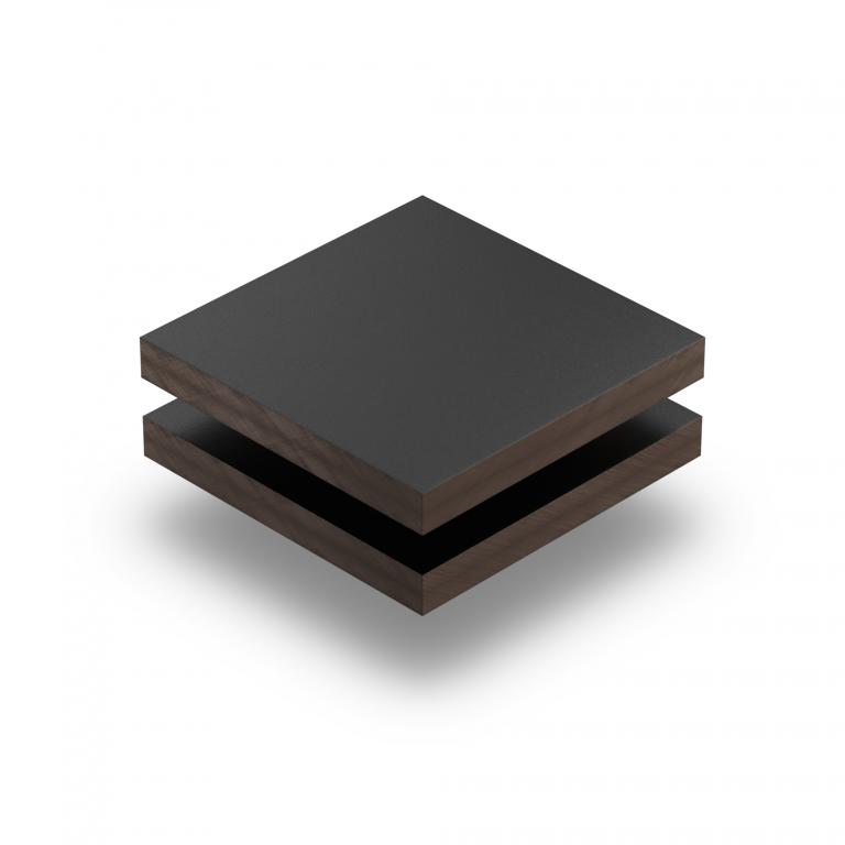HPL Trespa Meteon zwart RAL 9005