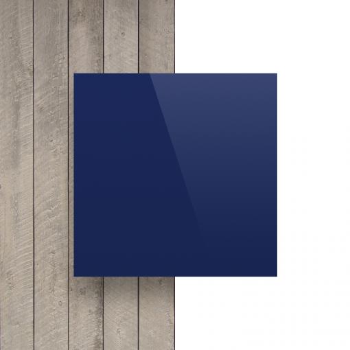 Alupanel voorkant blauw