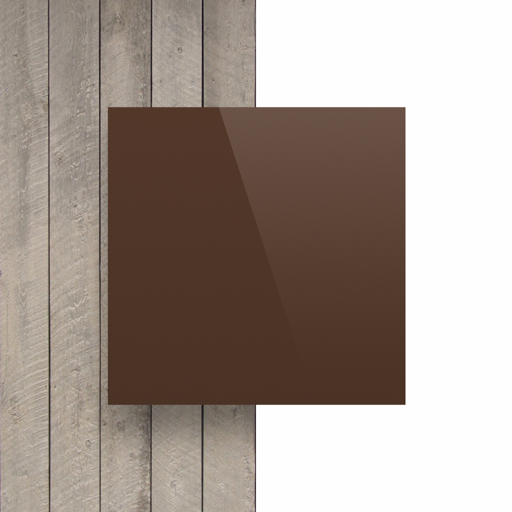 Alupanel voorkant bruin