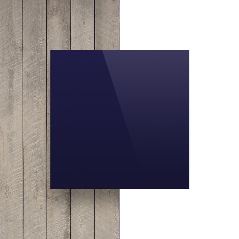 Alupanel voorkant donkerblauw