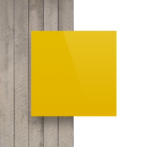 Alupanel voorkant geel