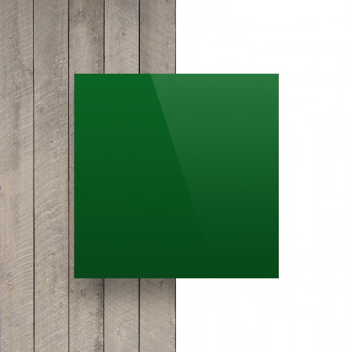 Alupanel voorkant groen