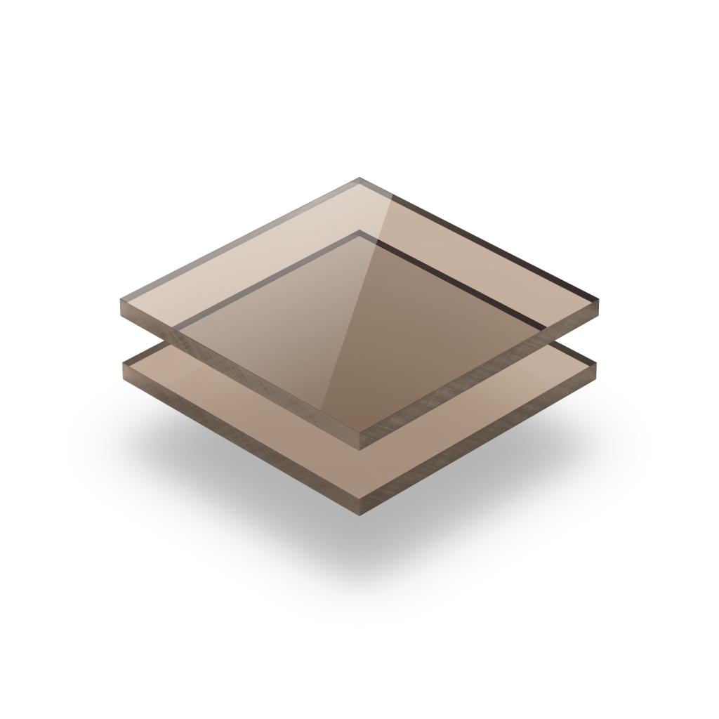 Getint bruin plexiglas