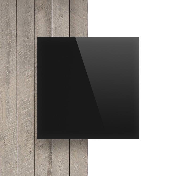 Plexiglas voorkant opaal zwart