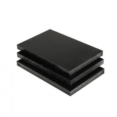 hard polyethyleen plaat zwart