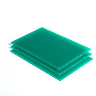 opaalgroen plexiglas-plaat