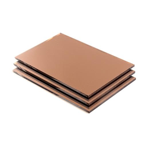 brons spiegel plexiglas 3 mm gratis op maat levering. Black Bedroom Furniture Sets. Home Design Ideas