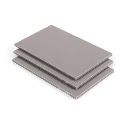 Cement mat satijn Plexiglas
