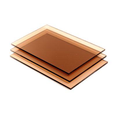 Getint bruin Polycarbonaat