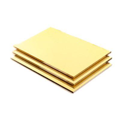 Goud spiegel Plexiglas