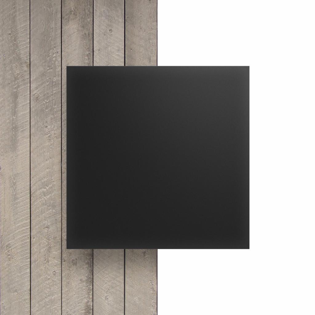 Plexiglas voorkant satijn antraciet mat