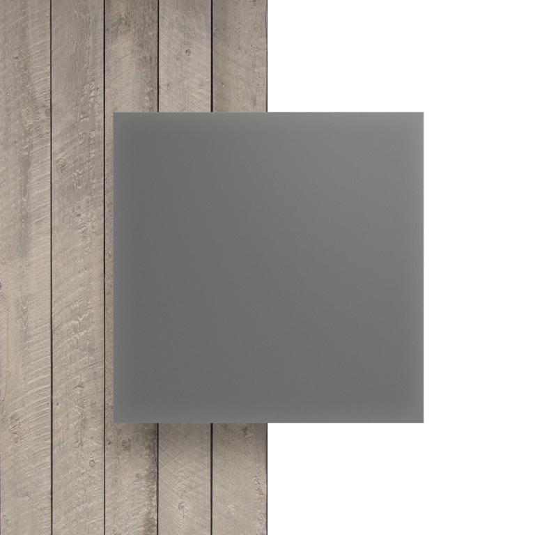 Plexiglas voorkant satijn cement mat