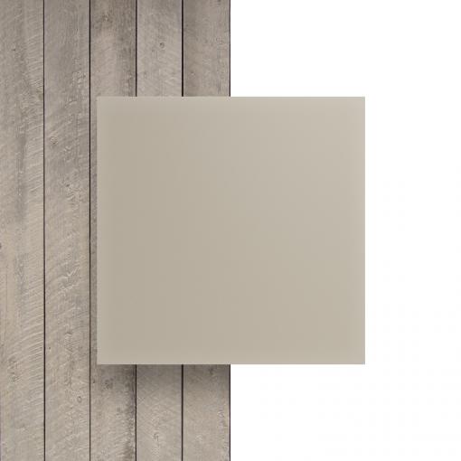 Plexiglas voorkant satijn creme mat