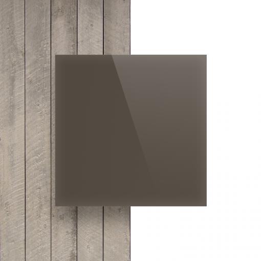 Plexiglas voorkant satijn klei glans