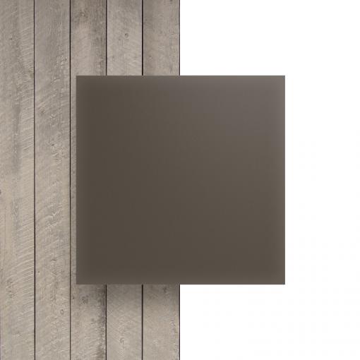 Plexiglas voorkant satijn klei mat