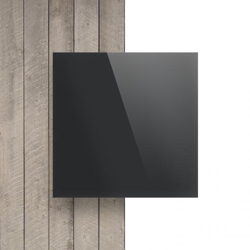 Plexiglas voorkant spiegel antraciet