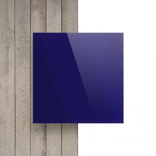 Plexiglas voorkant spiegel blauw
