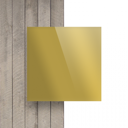 Plexiglas voorkant spiegel goud