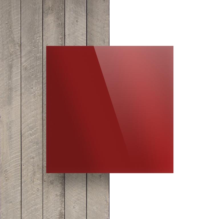 Plexiglas voorkant spiegel rood