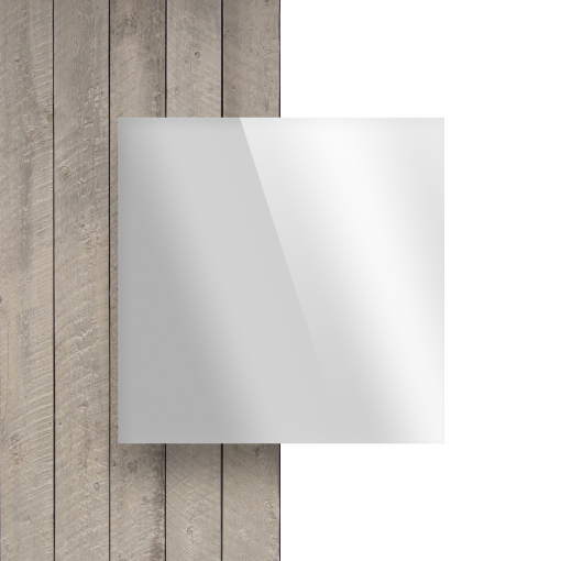 Plexiglas voorkant spiegel zilver