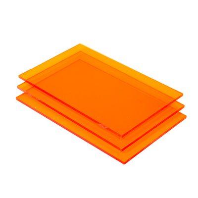 Plexiglas oranje