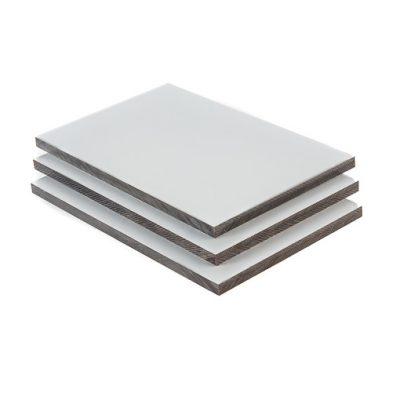 HPL platen lichtgrijs RAL 7035