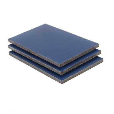 HPL platen staalblauw RAL 5011