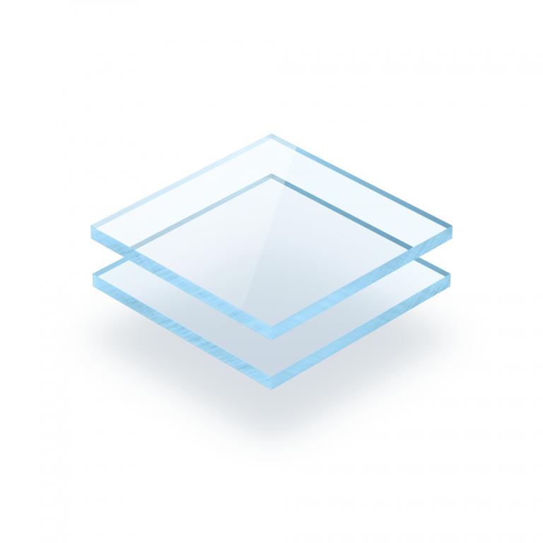 Blauw fluor plexiglas