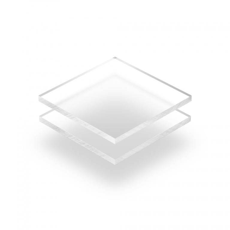 Frost plexiglas plaat helder