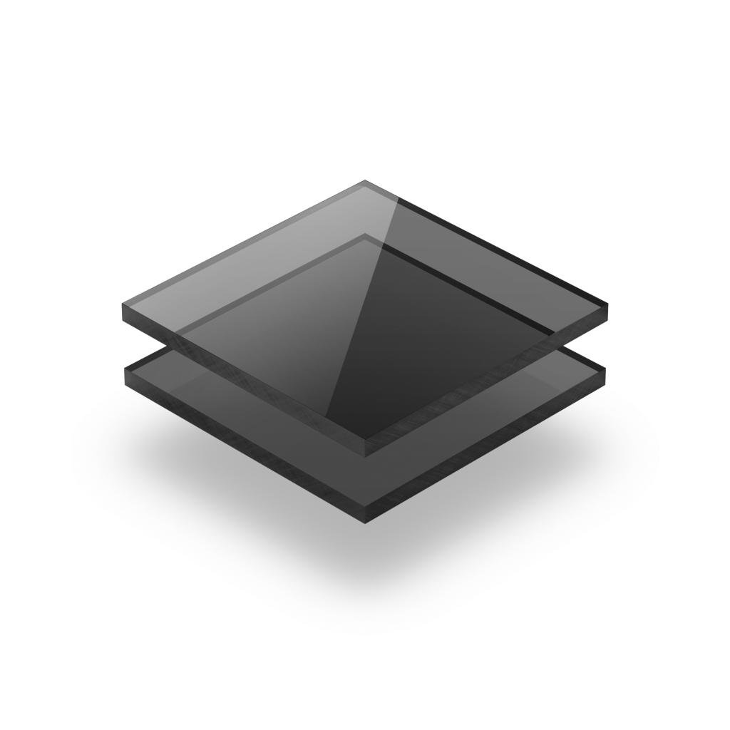 Getint grijs plexiglas