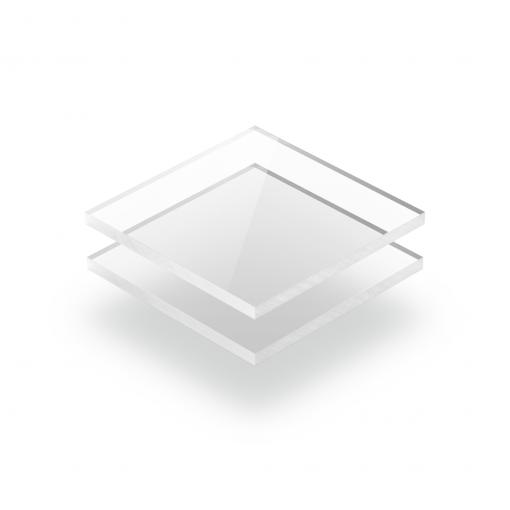 Glashelder plexiglas transparant