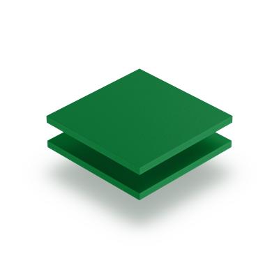 Groen PVC geschuimd RAL 6024