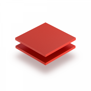 Rood PVC geschuimd RAL 3020