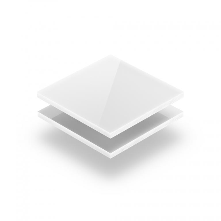 Wit plexiglas