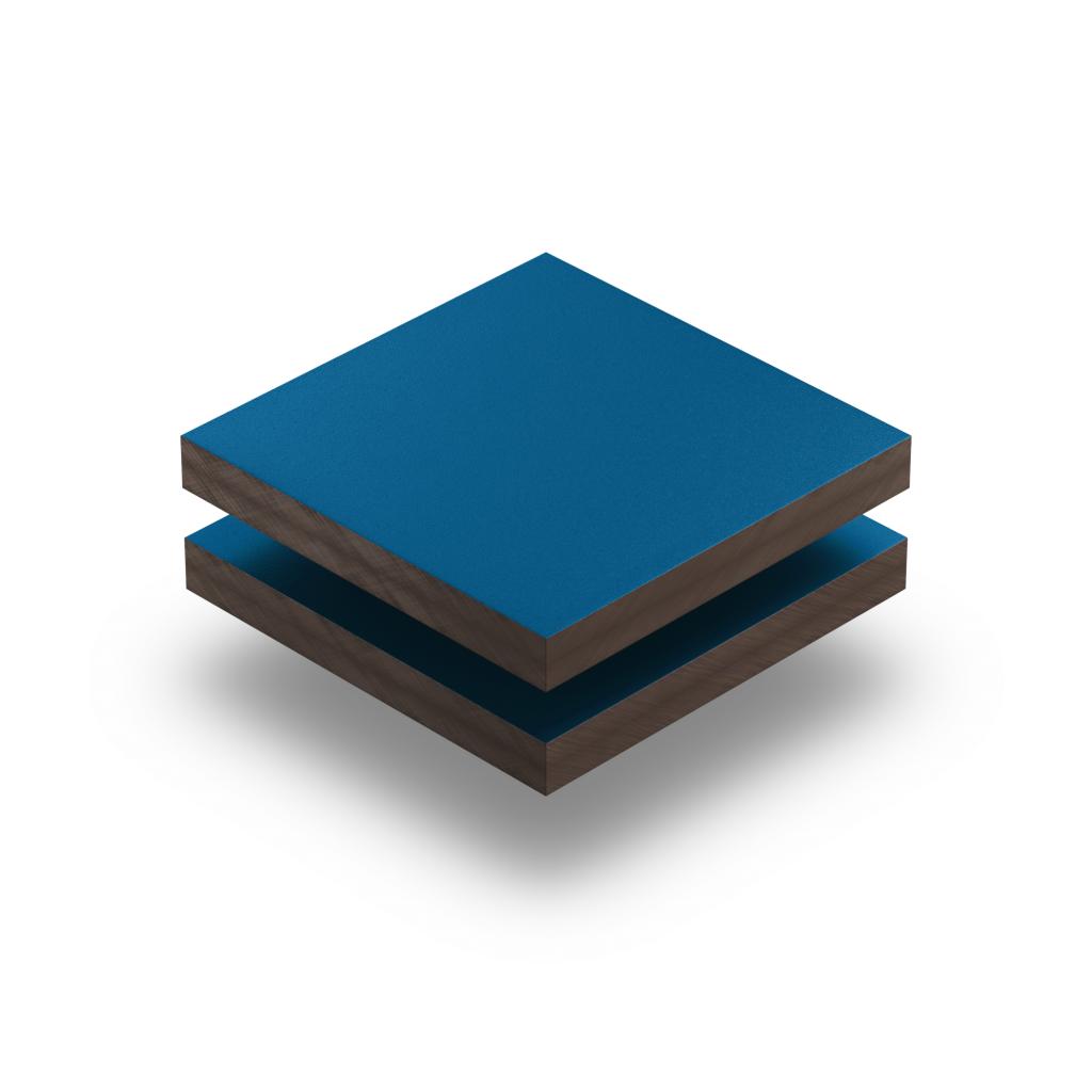 Gentiaanblauw HPL gestructureerd RAL 5010