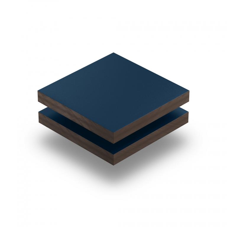 Staalblauw HPL gestructureerd RAL 5011