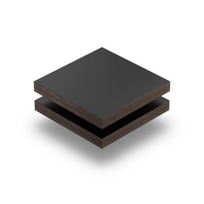 Zwart HPL gestructureerd RAL 9005