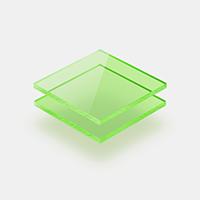 Fluorescerend plexiglas