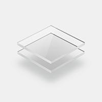 Glashelder plexiglas