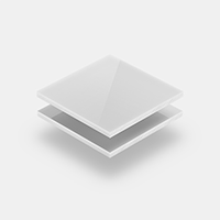 Opaal wit plexiglas