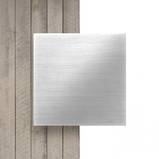 Butlerfinish aluminium geborsteld alupanel