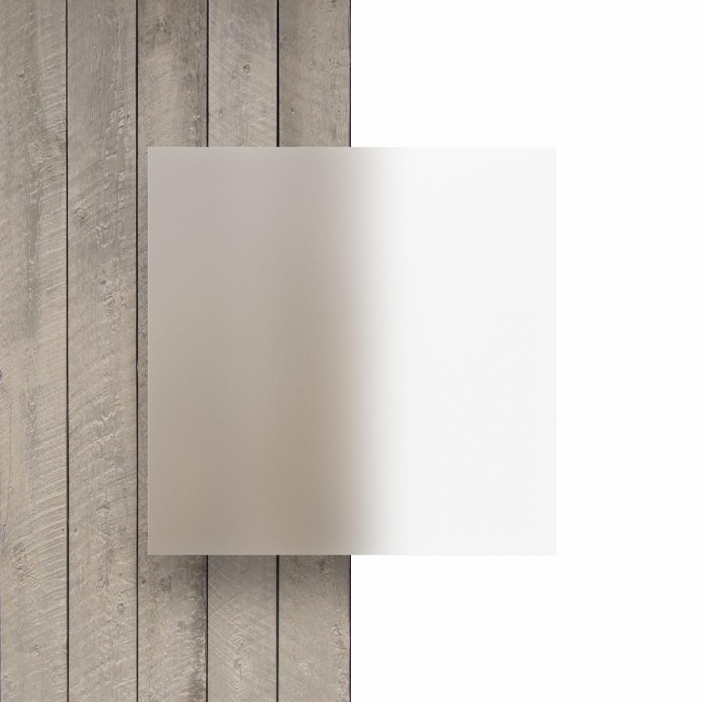 Frost helder plexiglas plaat voorkant